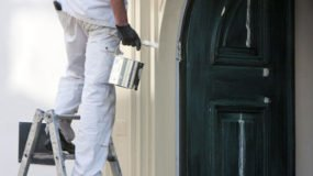 Painting contractor painting